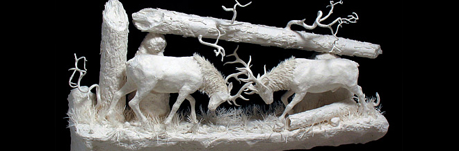Incredible Sculptures Unbelievably Made With Cast Papers
