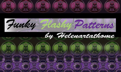 Funky photoshop patterns