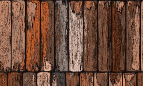 Painted seamless wood plank texture
