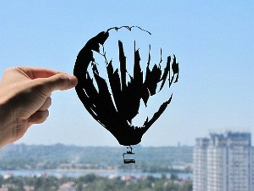air balloon dream paper cut Dmytro Iuliia featured