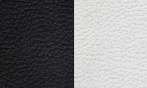 Black white leather texture