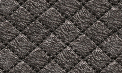 Diamond pattern leather texture