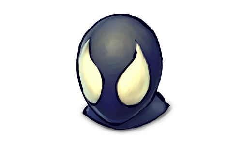 Venom black spiderman icon