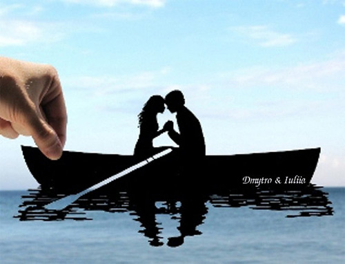 love on the lake dream paper cut Dmytro Iuliia featured