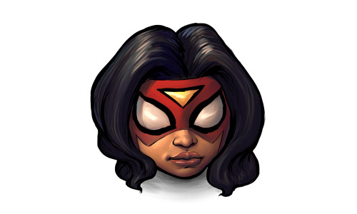 Spiderwoman woman icon
