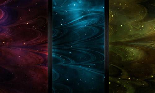 Nebula fractal patterns