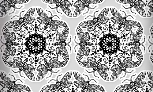 Ornament fractal pattern