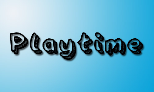Playtime regular fonts