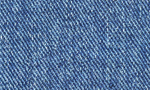 Blue seamless denim