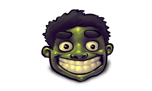 Happy hulk hero icons