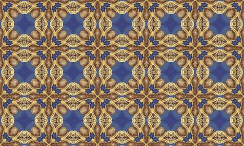 Decorative fractal patterns
