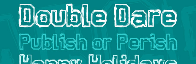 Free Sketchy Outlined Fonts To Help You Have Cool Typography