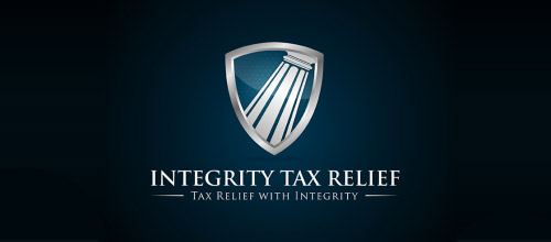 tax law firm logo design