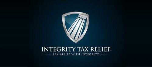 tax law firm logo design