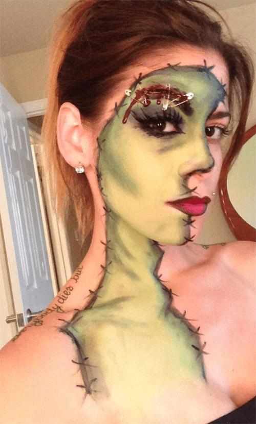 eyebrows Halloween make up