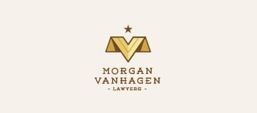 law consulting firm logo design