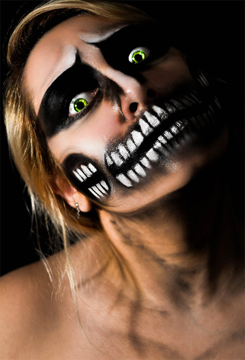 teeth halloween makeup