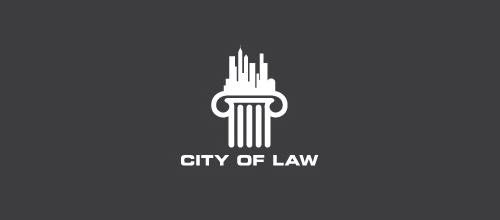 city law firm logo design