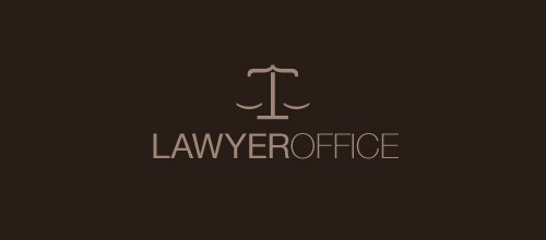 minimalist lawyer firm logo
