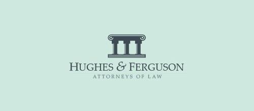 elegant law firm logo design