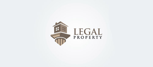 legal property logo design
