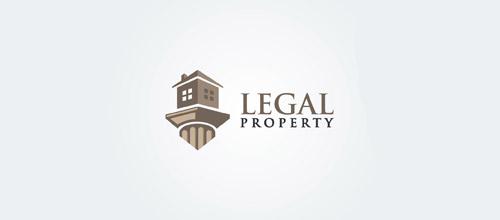 legal property logo design