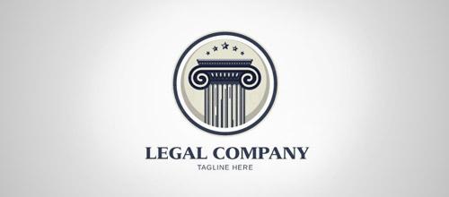 column legal firm logo design