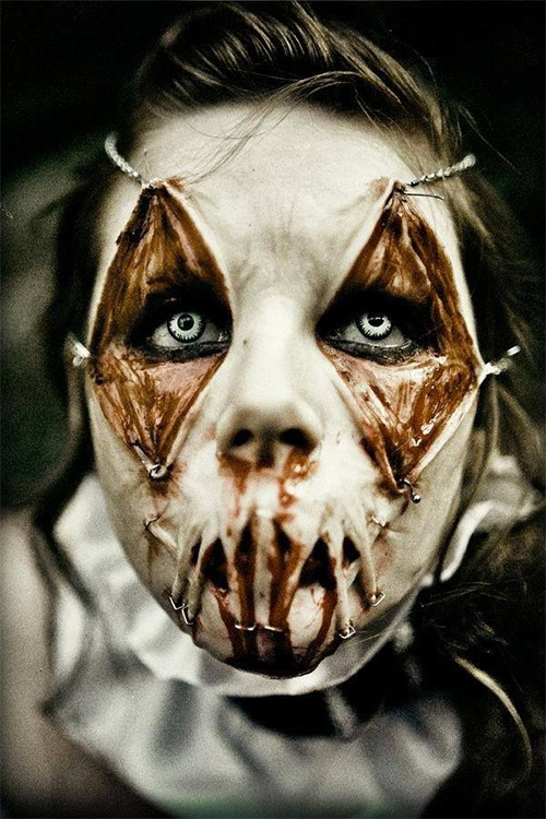 20+ Examples Of Scary Halloween Makeup Ideas You Should See ...