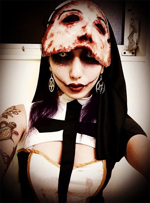 priest Halloween makeup