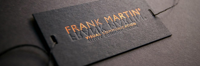 Impressive Hot Foil Stamped Business Cards You Should See