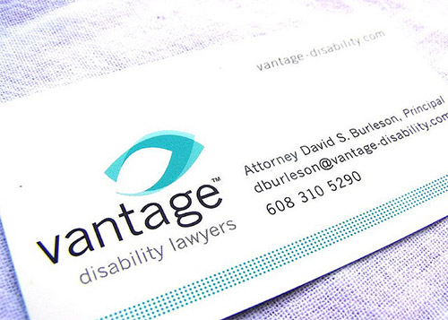 vantage lawyer business card