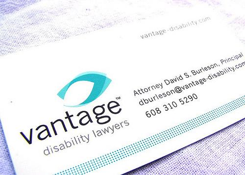 vantage lawyer business card