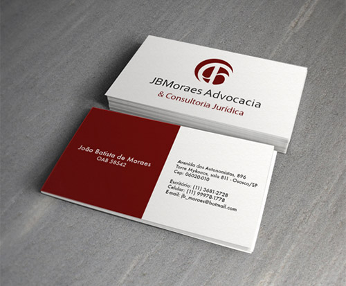 Lawyer Consultant Business Card