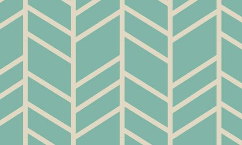 turquoise weave herringbone pattern