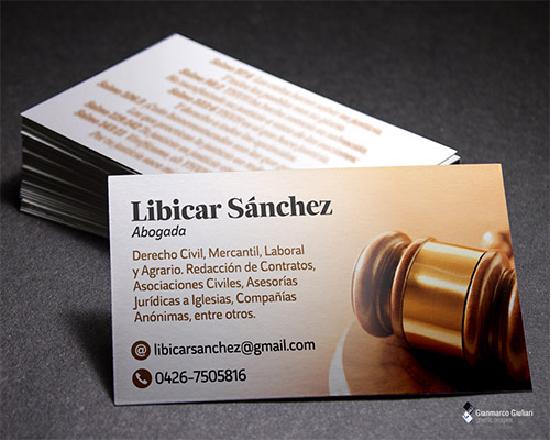 picture lawyer business card