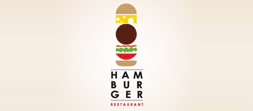 hamburger logo design