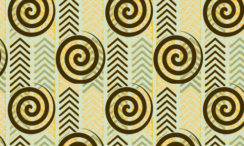 swirl herringbone pattern