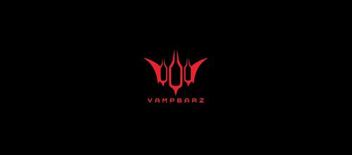 vampire bat logo design