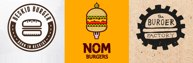 30 Burger Logo Designs That Will Motivate You