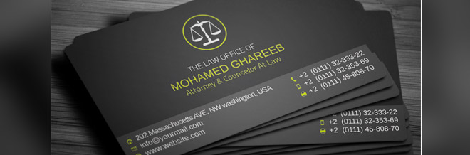 Attorney business card selol ink attorney business card cheaphphosting Images