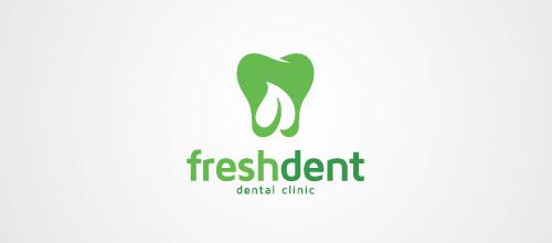 freshdent tooth logo