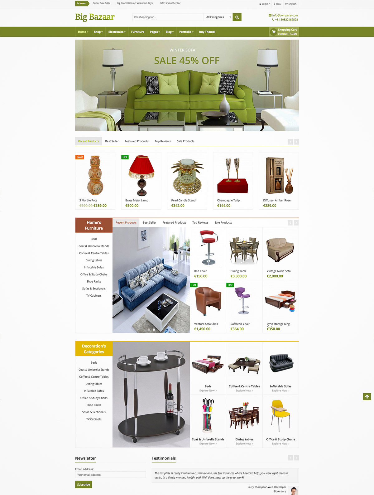 ecommerce theme wordpress