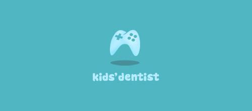 kid dentist logo design