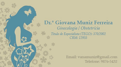 obstetric business card