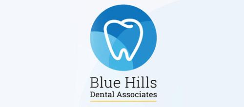 blue dental logo