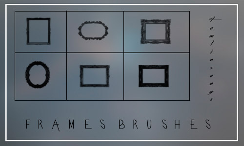 free frames brushes