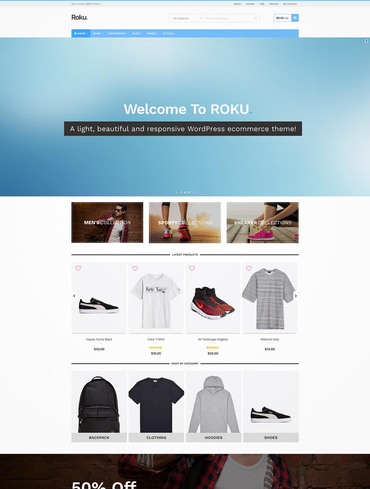 responsive ecommerce themes