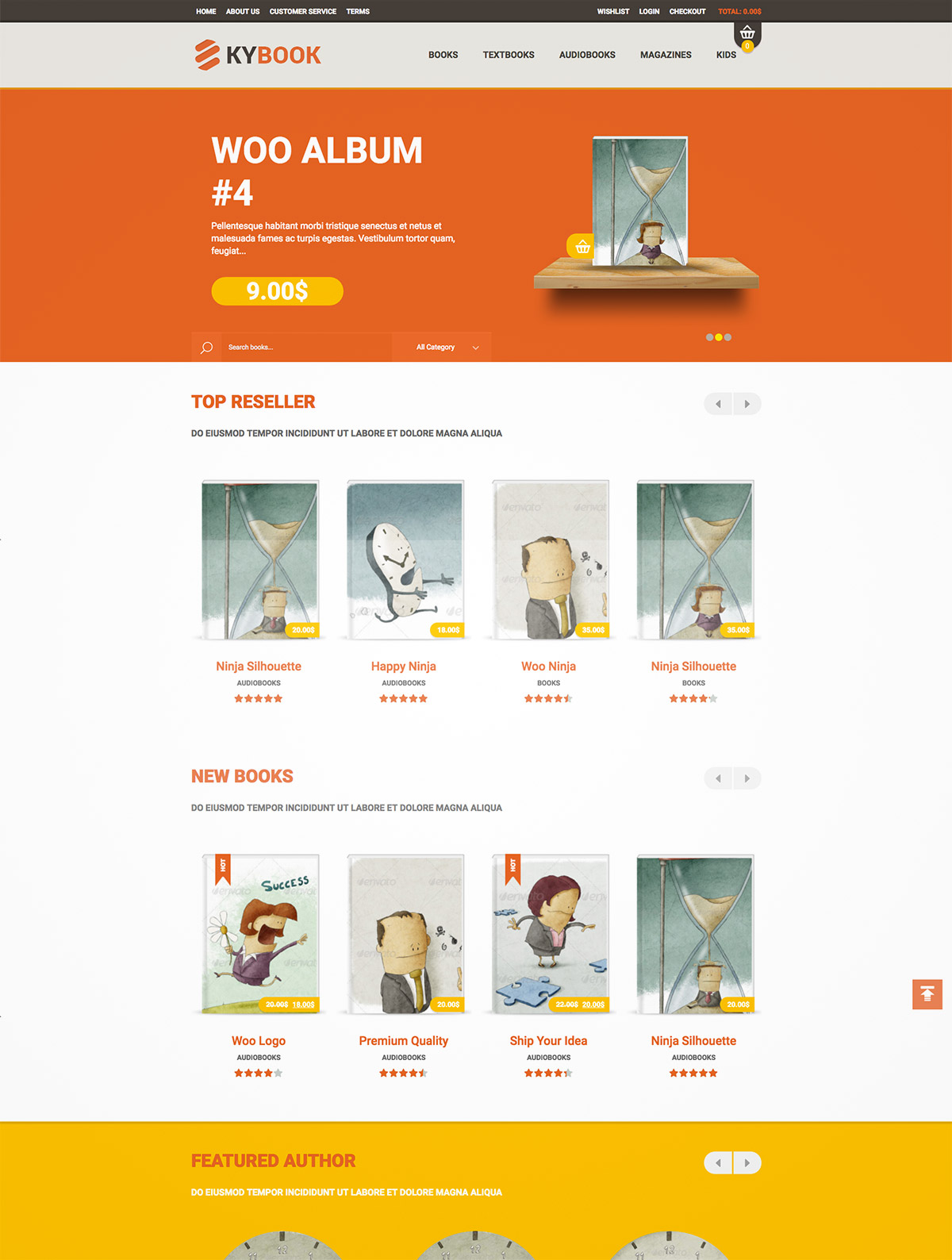 shop wordpress themes