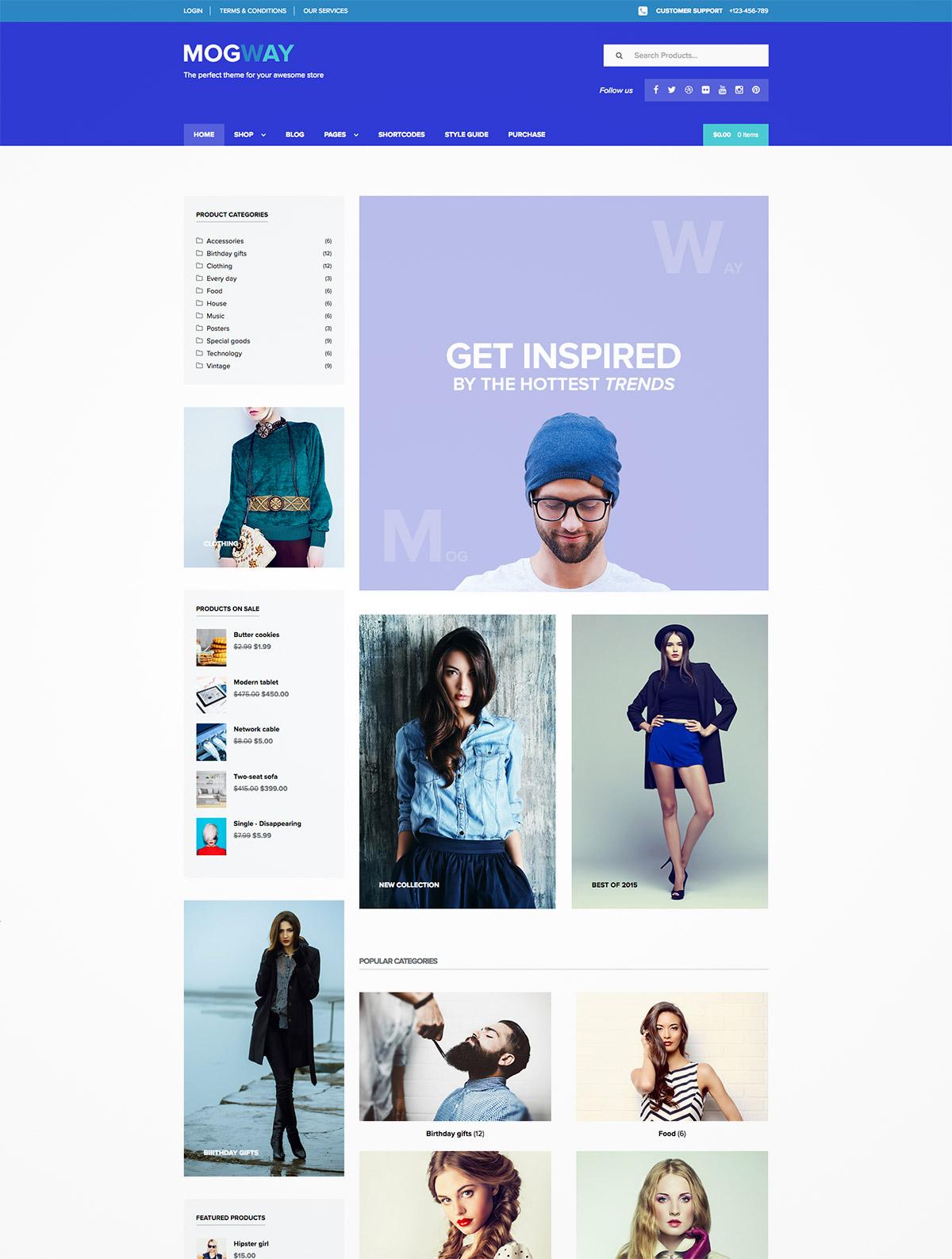 ecommerce responsive themes