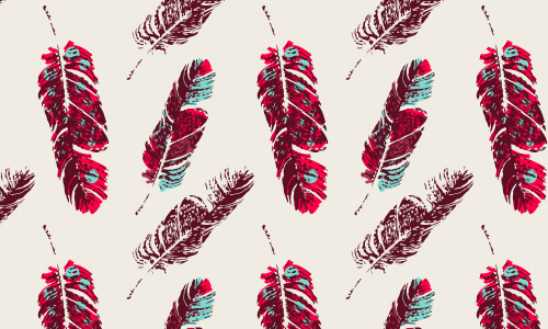 tribal feather patterns